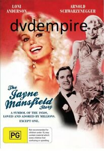 The Jayne Jane Mansfield Story DVD New and Sealed for Aussie DVD Players