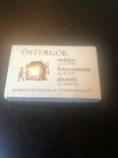 """VINTAGE """"Deb Gyldene Freden Sweden"""" MATCHBOOK"""