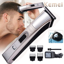 4 IN 1 Men's Hair Clippers Trimmers Cutting Machine Cordless Beard Shaver UK