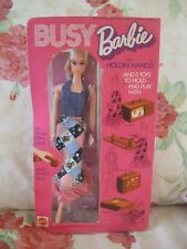 RARE VINTAGE Barbie NRFB 1971 busy Barbie holdin hands..Lovey doll