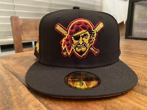 Pittsburgh Pirates 1994 All-Star Game Gold UV New Era Fitted Hat 7 3/4 Black