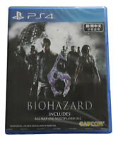 Biohazard 6 Resident Evil PS4 2018 Chinese English French Spanish Factory Sealed