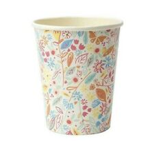 Meri Meri Princess Unicorn Birthday Party Range, Floral Paper Cups x8