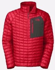 The North Face Pullover Jacket Thermoball Packable Red Quilted Men's New L $160