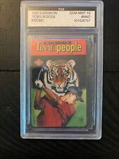 1997 Cardwon Tiger Woods Rookie Promo Graded Gem Mint 10  # NNO