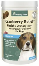 60pcs Cranberry Relief for Dogs Soft Chew (Best Before 10/2022)