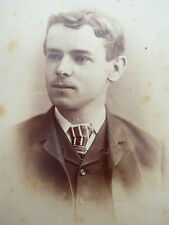 1880s Victorian Cabinet Card Photograph by Wivell & Co Adelaide