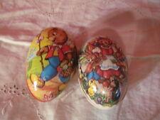 2 vintage Easter Eggs Western Germany & German Democratic Republic