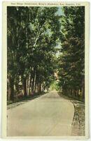 Postcard Los Angeles CA San Diego Boulevard King's Highway Dirt Road California