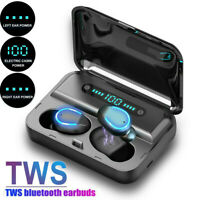 IPX7 Bluetooth 5.0 Headset TWS Wireless Earphones Mini Earbuds Stereo Headphones