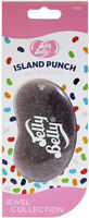 15363 Jelly Belly JEWEL ISLAND PUNCH 3D Bean Air Freshener Car (x1) Hanging Gel