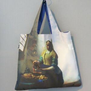 LOQI Tasche Johannes Vermeer milkmaid Museum BAG Falt Shopper