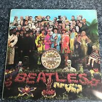 LP THE BEATLES Sgt Pepper's Lonely Hearts Club Band UK 1ST PRESS STEREO PMC 7027