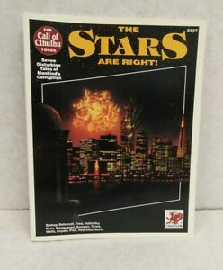 Call of Cthulhu RPG The Stars Are Right SC (Chaosium 1992 1st printing)