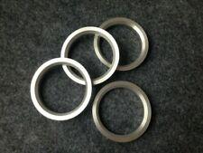 4pc Aluminum Hubrings 67.1mm Car Hub to 75mm Wheel Bore ID 67.1 OD 75