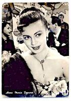 ANNA MARIA FERRERO Cinema Star Attrice 1960 ITALY Real Photo PC Vera foto
