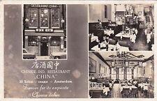* NETHERLANDS - Amsterdam - Chinese Ind.Restaurant China 1957