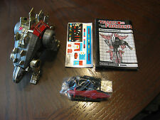 SNARL DINOBOT UNUSED STICKER SEALED WEAPONS G1 VINTAGE TRANSFORMER ORIGINAL!