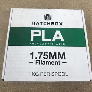 HATCHBOX PLA 3D Printer Filament, 1.75 MM, 1 KG Spool, Gray