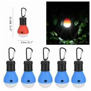 5x Camping Lights LED Light Bulb Lamp Lantern Battery Operated Emergency Tent