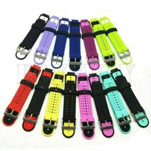 1* For Garmin Forerunner 235 630 230 Watch Silicone Replacement Wrist Band Strap