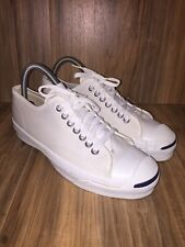 RARE🔥VTG 60s 70s Jack Purcell White Canvas Sneakers Sz6.5 Men's Made In 🇺🇸