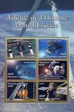 TOGO 2006 SPACE EXPLORATION M/S  (SPACE STATION) MNH CV$9.50