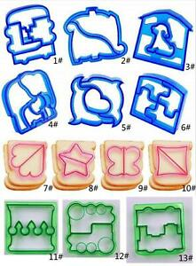 Dinosaur Shape Animal Sandwich Bread Cutter Mold Cutter Cake Toast Mould Cookies