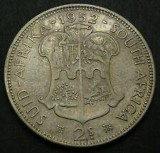 SOUTH AFRICA 2 Shillings 1952 - Silver - George VI. - VF- - 3476