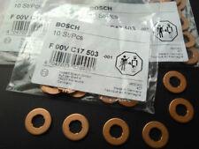 Bosch diesel injector thermo shim gasket 330D 530D 535D 730D 745D X5 X6 6pc