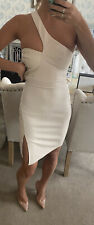 Lipsy By Michelle Keegan Bodycon PU Insert dress size Small 8 (6) new with tags