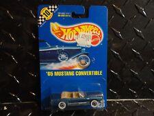 Hot Wheels #26 Metal Flake Blue '65 Mustang Convertible