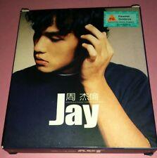 JAY CHOU周杰倫 ZHOU JIE LUN: JAY ALBUM 周杰倫 (DEBUT ALBUM) ( 2000 / TAIWAN )   CD+VCD
