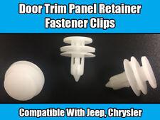 10x Clips for CHRYSLER JEEP CHEROKEE VOYAGER door trim panel Retainer Fastener