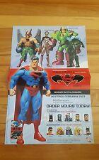 superman/batman public enemies 2 series 3 pin up promo poster 2007