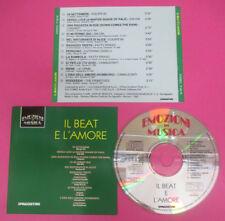 CD Compilation Il Beat E L'Amore I CAMALEONTI LE ORME EQUIPE 84 no lp mc(C44)