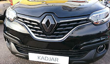 Renault Kadjar 2015+ CARBON FIBRE EFFECT BADGE EMBLEM COVER *OFFER*