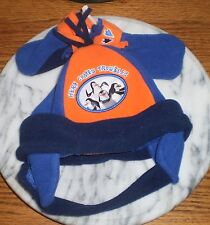 ~~ONE (1) HAT AND MITTEN SET FOR SIZE-BABY INFANT MADAGASCAR HERE COMES TROUBLE!