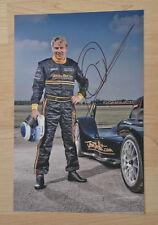 ORIGINAL Autogramm von Mika Häkkinen. pers. gesammelt. 20x30 FOTO. 100% ECHT.