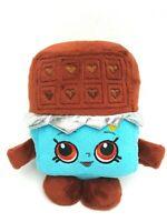 Shopkins Cheeky Chocolate Candy Bar Blue Brown Soft Plush Stuffed Toy 18CM