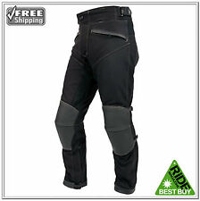 """WEISE PSYCHO WATERPROOF ARMOURED LEATHER/TEXTILE JEANS SIZE XXL 36"""" WAIST £159"""