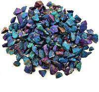 1/2 lb Bornite Peacock Copper Ore Pieces Chalcopyrite Rough Chunk Rock Crystals