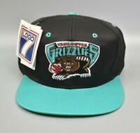 Vancouver Grizzlies Logo 7 Vintage 90's NBA Adjustable Snapback Cap Hat - NWT