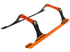 Rakon Blade 230S CNC Landing Gear Set (Black-Orange) - 230S721-BO