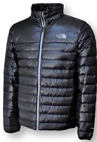 North Face Men's Flare Jacket In Large 550 Goose Down Black Authentic BNWT