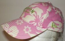 Women's Pink Gold Boston Red Sox Cotton Hat Cap One Size