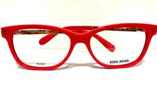 New BOBBY BROWN The Olive 52mm Coral Gold LADIES EYEGLASSES OPHTHALMIC Rx FRAME
