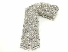 Beautiful 27'' Crystal Bridal Belt Rhinestone Wedding Sash Belt, Bridal Trim