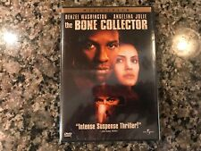 The Bone Collector New Sealed Dvd! 1999 Thriller! See Rear Window & Taking Lives