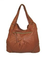 f8f3f1740fc5 STYLE & CO KENZA Tan Faux Leather Hobo Shoulder Bag Msrp $108.50
